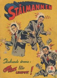 Cover Thumbnail for Stålmannen (Centerförlaget, 1949 series) #6/1953