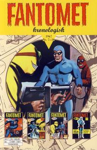 Cover Thumbnail for Fantomet kronologisk (Hjemmet / Egmont, 2017 series) #5 - 1967 Nr. 7-10