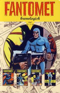 Cover Thumbnail for Fantomet kronologisk (Hjemmet / Egmont, 2017 series) #5 - 1967 Nr. 7-10 [Bokhandelutgave]