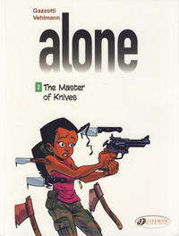 Cover Thumbnail for Alone (Cinebook, 2014 series) #2 - The Master of Knives