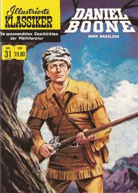 Cover Thumbnail for Illustrierte Klassiker [Classics Illustrated] (Norbert Hethke Verlag, 1991 series) #31 - Daniel Boone