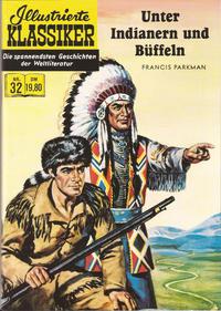 Cover Thumbnail for Illustrierte Klassiker [Classics Illustrated] (Norbert Hethke Verlag, 1991 series) #32 - Unter Indianern und Büffeln