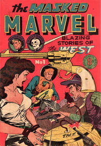 Cover Thumbnail for The Masked Marvel (Atlas, 1953 ? series) #1