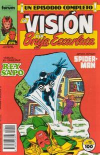Cover Thumbnail for La Visión y la Bruja Escarlata (Planeta DeAgostini, 1988 series) #12
