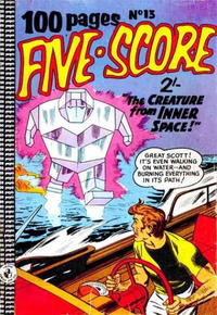 Cover Thumbnail for Five-Score Comic Monthly (K. G. Murray, 1958 series) #13
