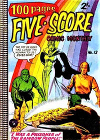 Cover Thumbnail for Five-Score Comic Monthly (K. G. Murray, 1958 series) #12
