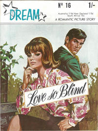 Cover Thumbnail for Dream A Romantic Picture Story (MV Features, 1966 ? series) #16