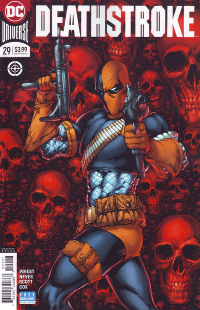 Cover for Deathstroke (DC, 2016 series) #29