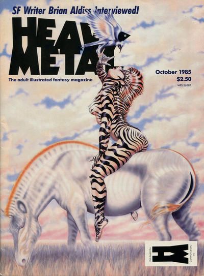 Cover for Heavy Metal Magazine (Heavy Metal, 1977 series) #v9#7 [Newsstand]