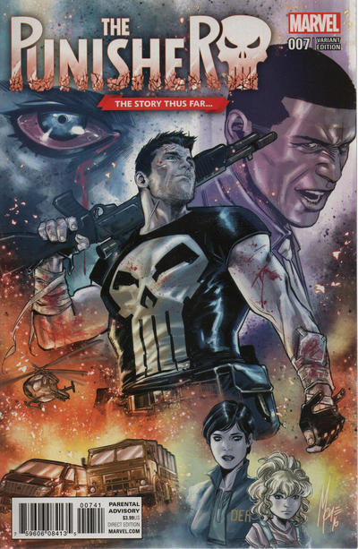 Cover for The Punisher (Marvel, 2016 series) #7
