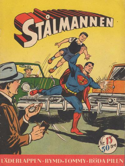 Cover for Stålmannen (Centerförlaget, 1949 series) #13/1954