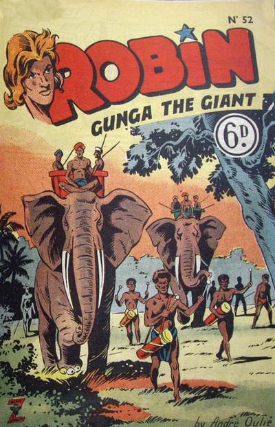 Cover for Robin (L. Miller & Son, 1952 ? series) #52