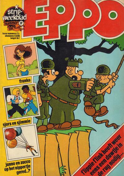 Cover for Eppo (Oberon, 1975 series) #17/1976