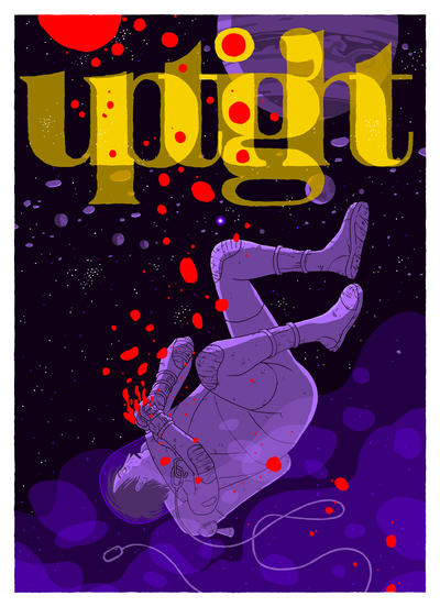 Cover for Uptight (Fantagraphics, 2006 series) #5