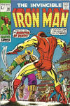 Cover for Iron Man (Marvel, 1968 series) #30 [British]