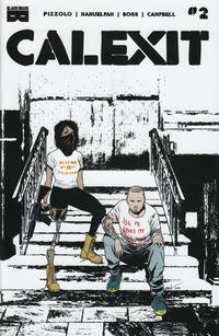Cover Thumbnail for Calexit (Black Mask Studios, 2017 series) #2