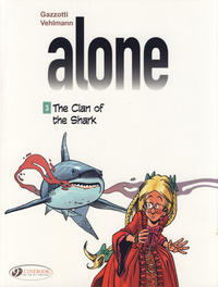 Cover Thumbnail for Alone (Cinebook, 2014 series) #3 - The Clan of the Shark