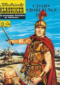 Cover Thumbnail for Illustrierte Klassiker [Classics Illustrated] (Norbert Hethke Verlag, 1991 series) #33 - Cäsars Eroberungszüge