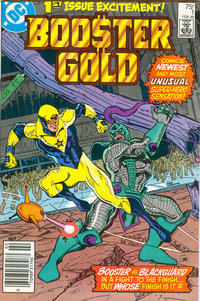 Cover Thumbnail for Booster Gold (DC, 1986 series) #1 [Newsstand]
