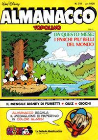 Cover Thumbnail for Almanacco Topolino (Arnoldo Mondadori Editore, 1957 series) #311