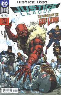 Cover Thumbnail for Justice League (DC, 2016 series) #41