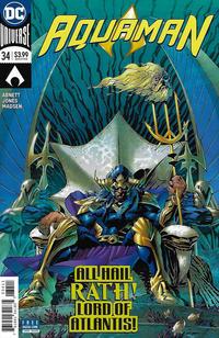 Cover Thumbnail for Aquaman (DC, 2016 series) #34 [Andy Kubert Cover]