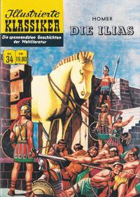 Cover Thumbnail for Illustrierte Klassiker [Classics Illustrated] (Norbert Hethke Verlag, 1991 series) #34 - Die Ilias