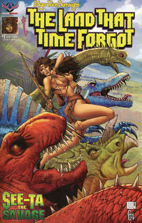 Cover Thumbnail for Edgar Rice Burroughs' The Land That Time Forgot: See-Ta the Savage (American Mythology Productions, 2018 series) #1 [Main Cover]