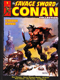 Cover Thumbnail for Collection The Savage Sword of Conan (Hachette, 2017 series) #1