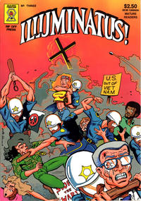 Cover Thumbnail for Illuminatus (Rip Off Press, 1987 series) #3