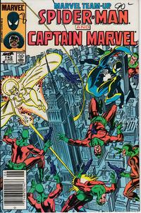 Cover Thumbnail for Marvel Team-Up (Marvel, 1972 series) #142 [Newsstand]