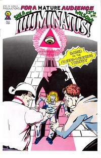 Cover Thumbnail for Illuminatus (Rip Off Press, 1987 series) #1 [Eye-n-Apple Edition]