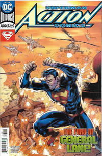 Cover Thumbnail for Action Comics (DC, 2011 series) #999 [Brett Booth / Norm Rapmund Cover]
