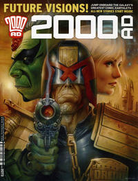 Cover Thumbnail for 2000 AD (Rebellion, 2001 series) #2073