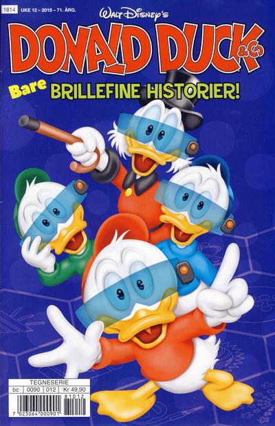 Cover for Donald Duck & Co (Hjemmet / Egmont, 1948 series) #12/2018