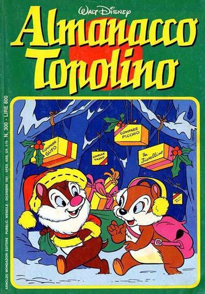 Cover for Almanacco Topolino (Arnoldo Mondadori Editore, 1957 series) #300