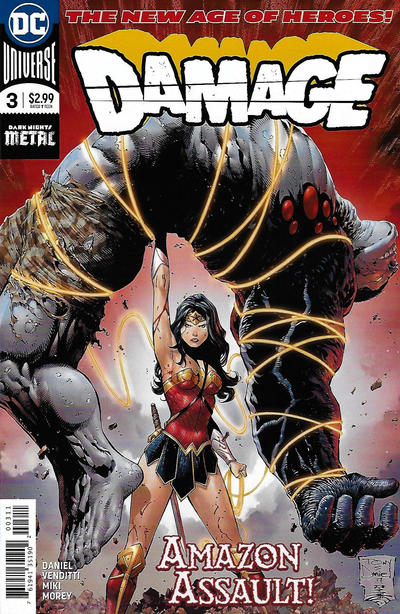Cover for Damage (DC, 2018 series) #3