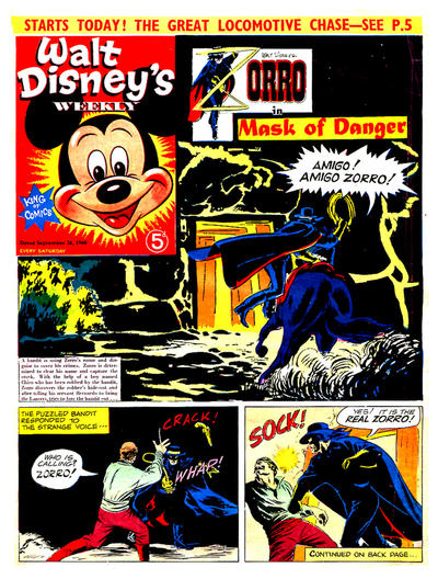 Cover for Walt Disney's Weekly (Disney/Holding, 1959 series) #v2#39