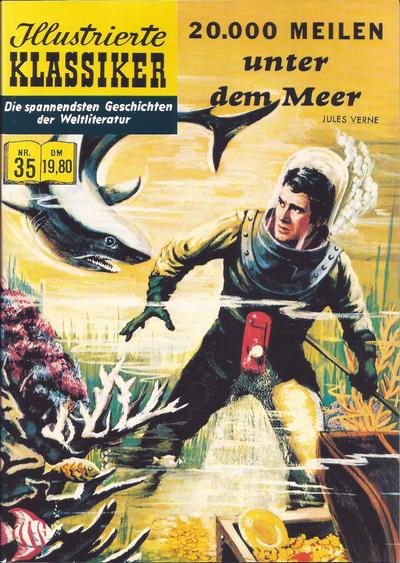 Cover for Illustrierte Klassiker [Classics Illustrated] (Norbert Hethke Verlag, 1991 series) #35 - 20.000 Meilen unter dem Meer