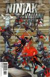 Cover for Ninjak vs. the Valiant Universe (Valiant Entertainment, 2018 series) #3 [Cover D - Francis Portela]