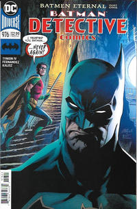 Cover Thumbnail for Detective Comics (DC, 2011 series) #976