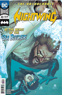 Cover Thumbnail for Nightwing (DC, 2016 series) #40