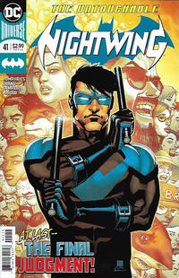 Cover Thumbnail for Nightwing (DC, 2016 series) #41