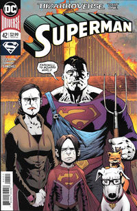 Cover Thumbnail for Superman (DC, 2016 series) #42