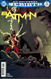Cover Thumbnail for Batman (DC, 2016 series) #21 [Tim Sale Cover Variant]
