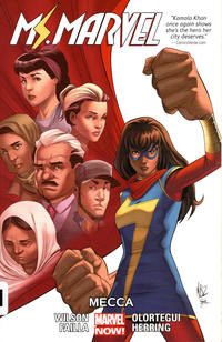 Cover Thumbnail for Ms. Marvel (Marvel, 2014 series) #8 - Mecca