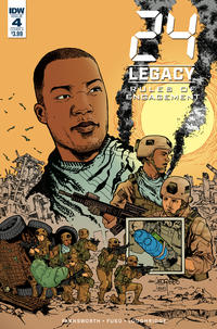 Cover Thumbnail for 24 Legacy: Rules of Engagement (IDW, 2017 series) #4