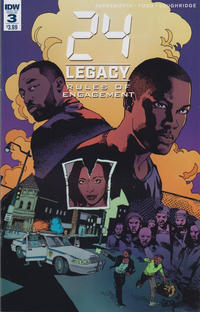 Cover Thumbnail for 24 Legacy: Rules of Engagement (IDW, 2017 series) #3