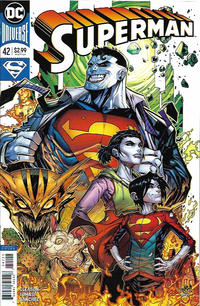 Cover Thumbnail for Superman (DC, 2016 series) #42 [JonBoy Meyers Cover]