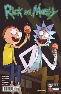 Cover Thumbnail for Rick and Morty (Oni Press, 2015 series) #1 [Third Printing Variant - Maximus Pauson]